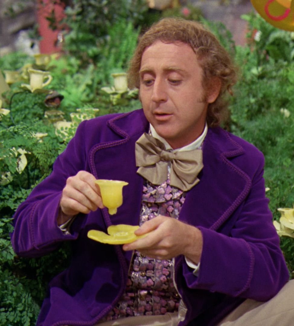 Gene Wilder in Willy Wonka & the Chocolate Factory, 1971 ...