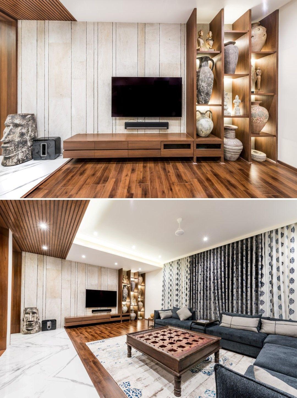 Popular Interior Design For Tv Showcase: Luxurious Penthouse Interior Design Is A Showcase Of The