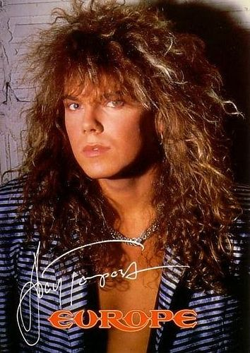 Joey Tempest Joey Tempest Europe Band 80s Hair Bands