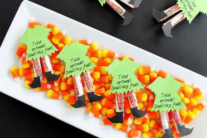 Halloween Candy Ideas Witch Legs Witch legs, Halloween candy and - halloween candy treat ideas