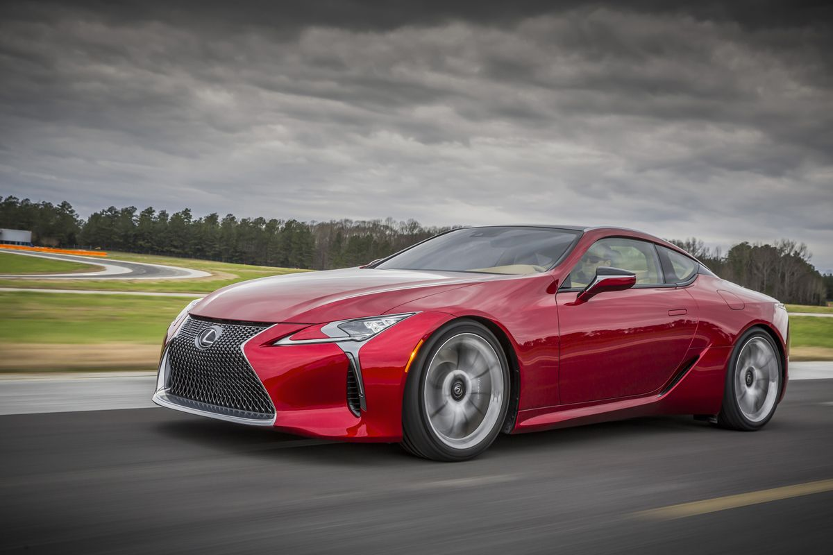 The Lexus LC 500 is the Luxury Sports Coupe We've Wanted
