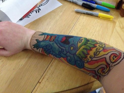 How to Make Quick and Easy Tattoo Sleeves   Holidays   Fake tattoo ...