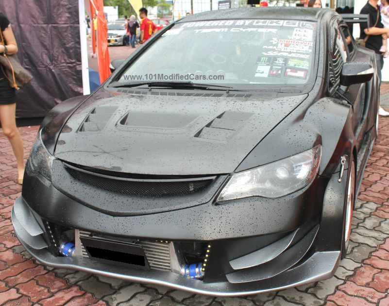 Photo of Custom Modified Honda Civic Sedan (8th generation) #hondacivic #customcivic #civ…
