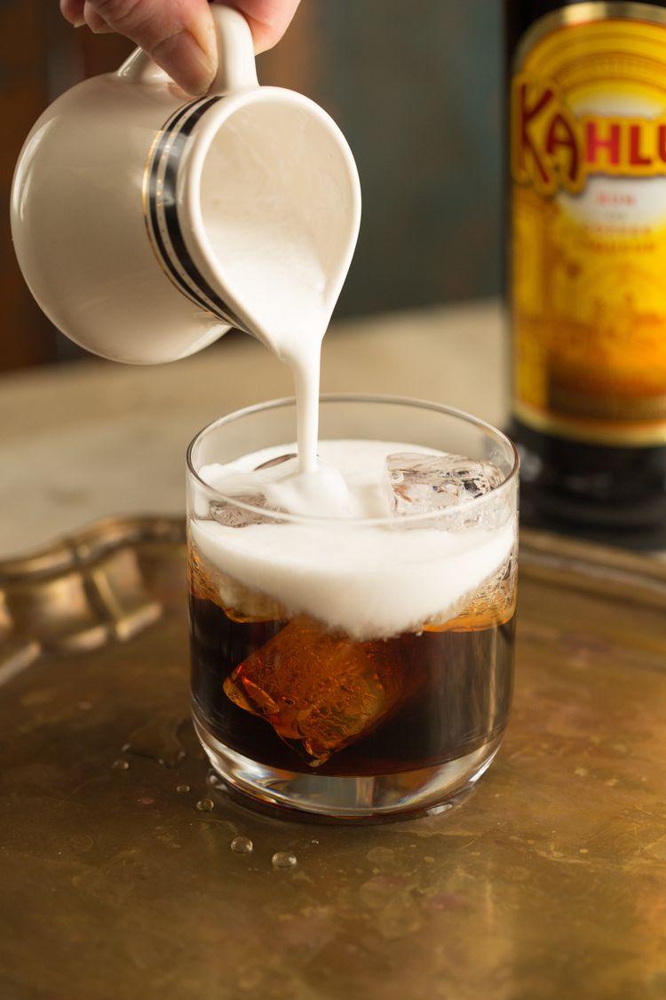 Coconut Milk White Russians Coconut milk cocktail, Fall
