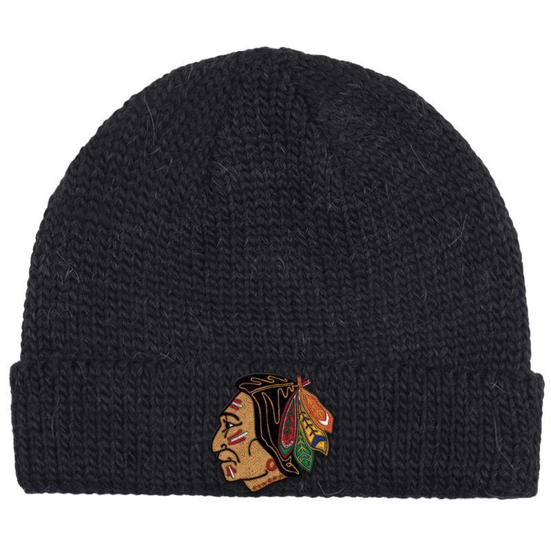 Chicago Blackhawks CCM 2017 Winter Classic Watch Knit Hat - Black