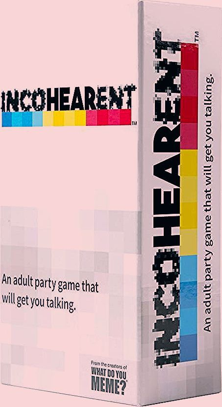 Photo of WHAT DO YOU MEME? Incohearent – Adult Party Game