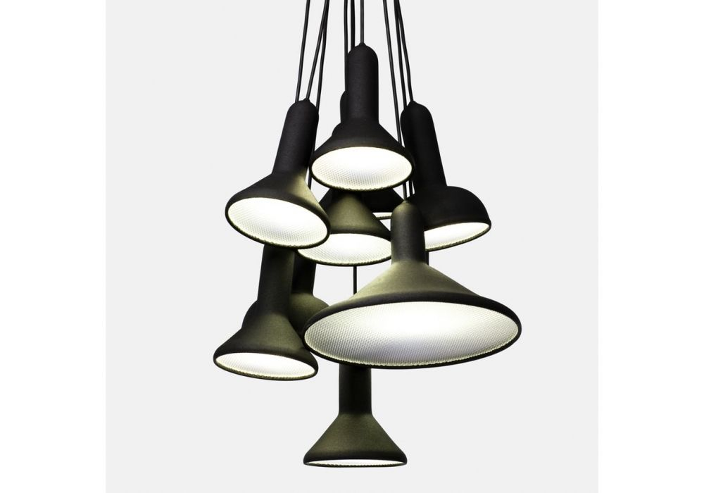 Torch Light Bunch Suspension Lamp Established&Sons - Milia Shop