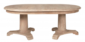 Belmont Oval Double Pedestal Dining Table Orient Express Home Gallery Stores Extension Dining Table Double Pedestal Dining Table Extendable Dining Table