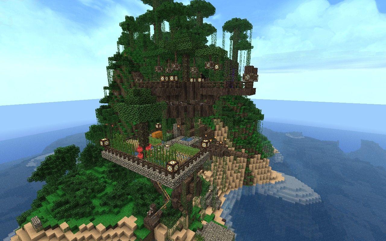 The Ultimate Treehouse The Diamondcast Minecraft Map Tree