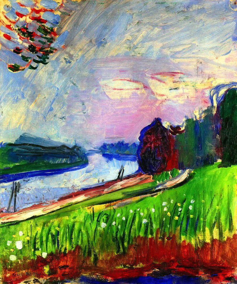 The Banks of the Garonne, Henri Matisse. 1901 | Painting. Henri ...