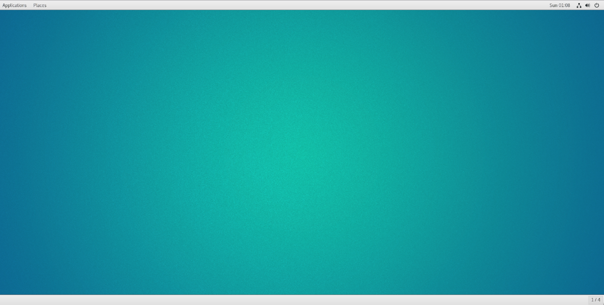 How to access Gnome Classic mode on Linux Solid color