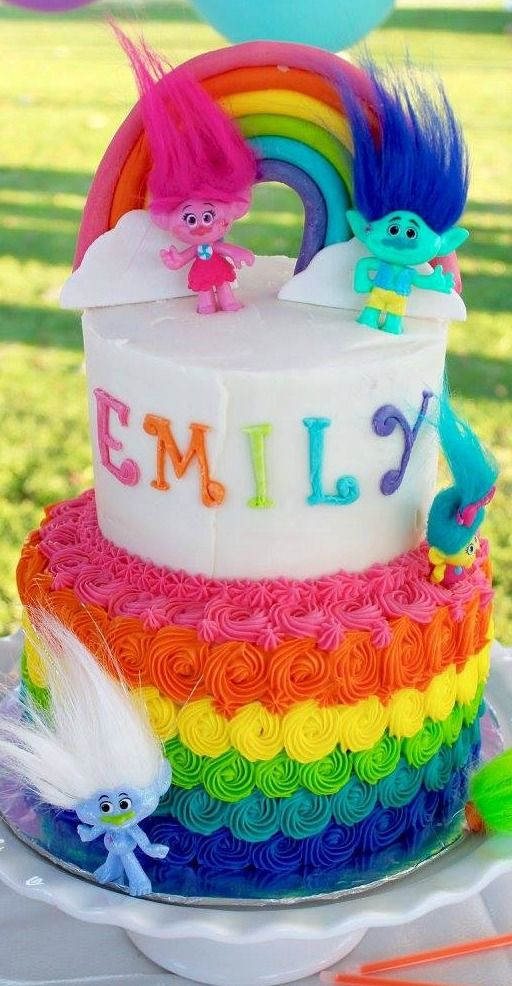 Trolls Cake Trolls Birthday Cake Trolls Cake Trolls Birthday