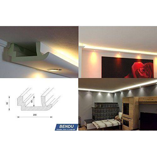 Wohnideen Led Band bendu moderne stuckleisten bzw lichtprofile für indirekte