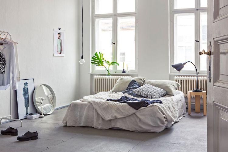 Das Bett Schrag Ins Zimmer Stellen Haus Deko Einrichtungsideen
