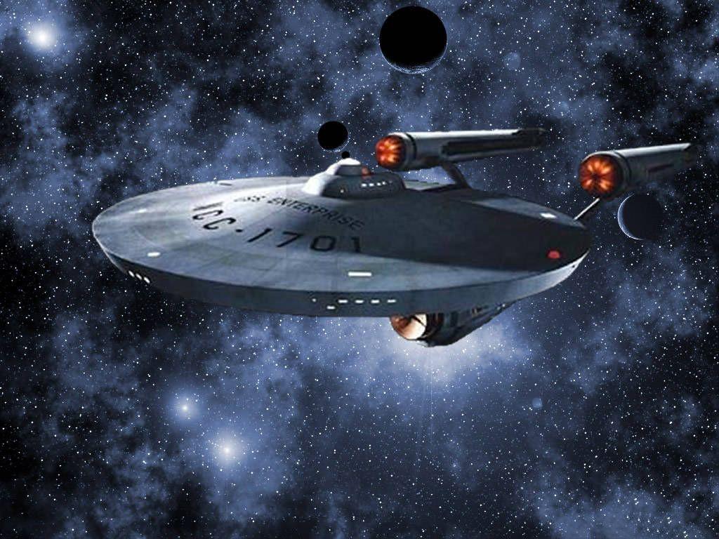 Tos U S S Enterprise Ncc 1701 Star Trek Wallpaper Star Trek Starships Star Trek
