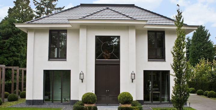 Eve architecten stijlvolle villa te bennekom nieuwbouw huizen in