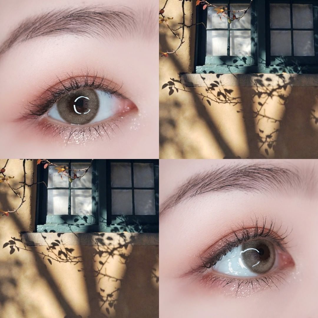 Vcee Aurora Brown Colored Contact Lenses Contact Lenses Colored Eye Lens Colour Colored Contacts