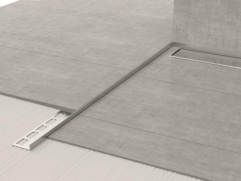 Stainless Steel Edge Profile For Floors Glass Profile Gps8 Glass Profile Collection By Profilpas Flooring Edge Profile Bathroom Interior
