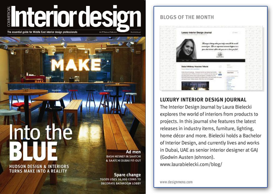 Luxury Interiors Commercial Interior Design Magazines Blog Of The Month March 2012