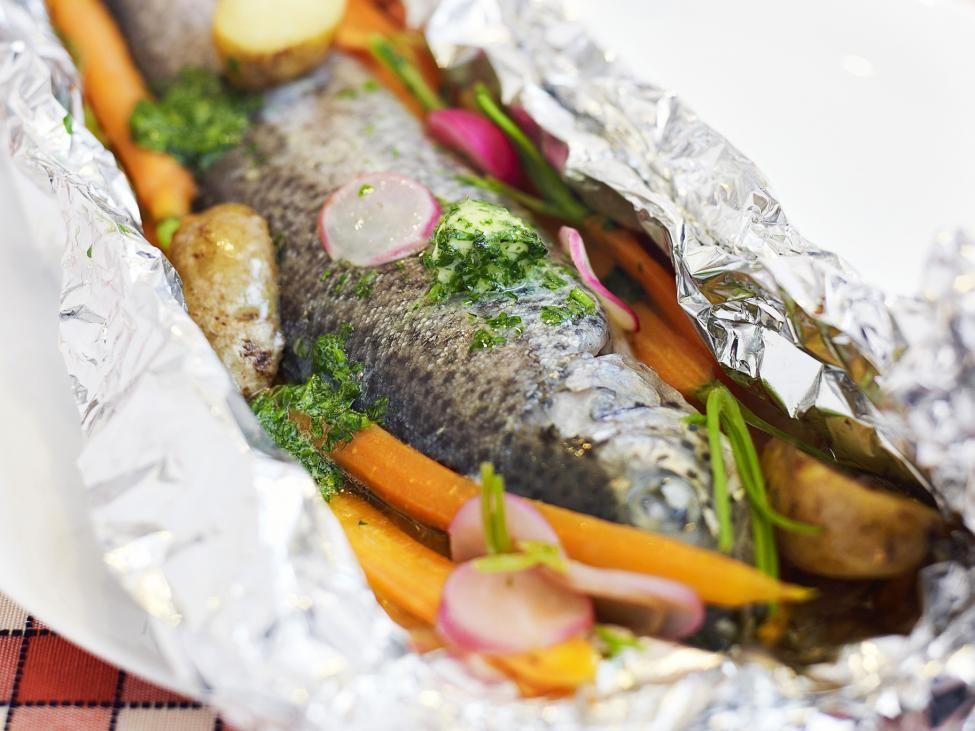 Pin van GInette Pollet op Recepten   Recept forel oven