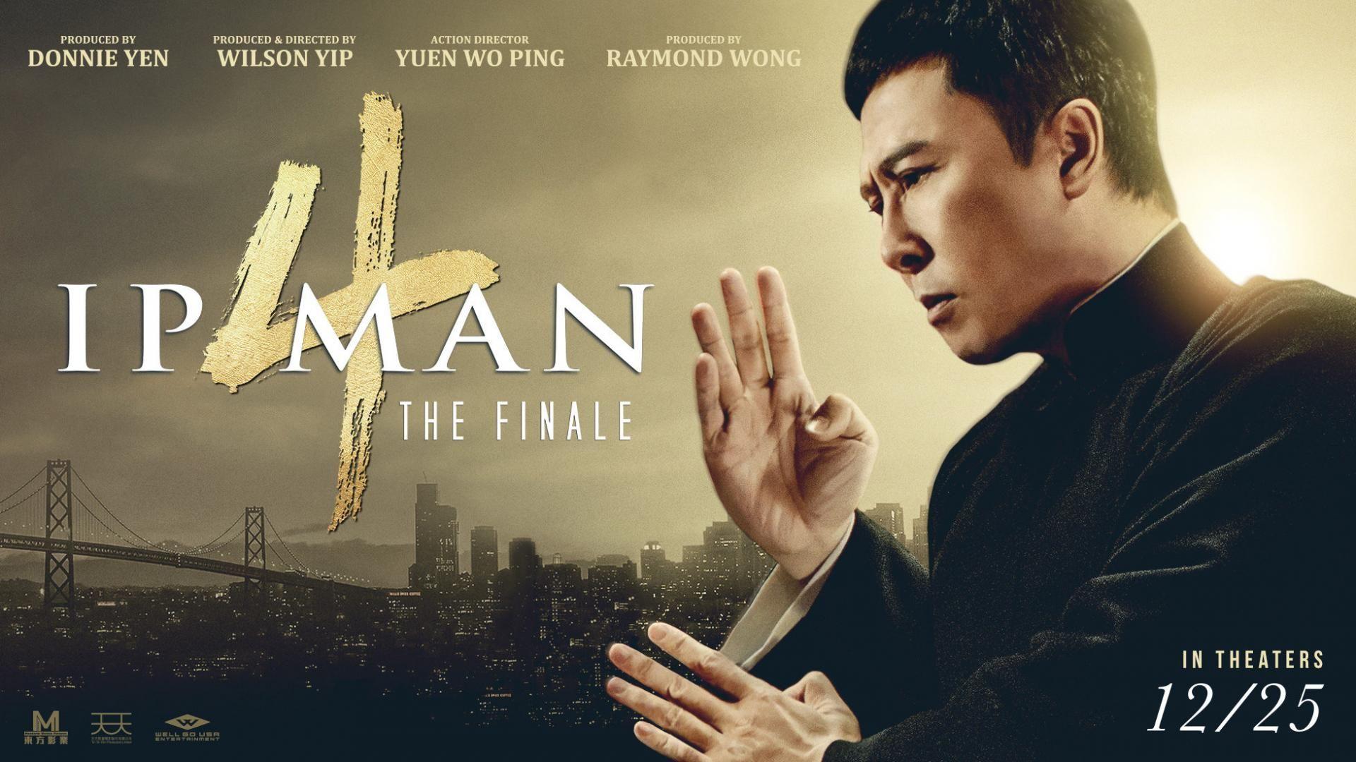 Ip Man 4 The Finale In 2020 Ip Man Ip Man 4 Man