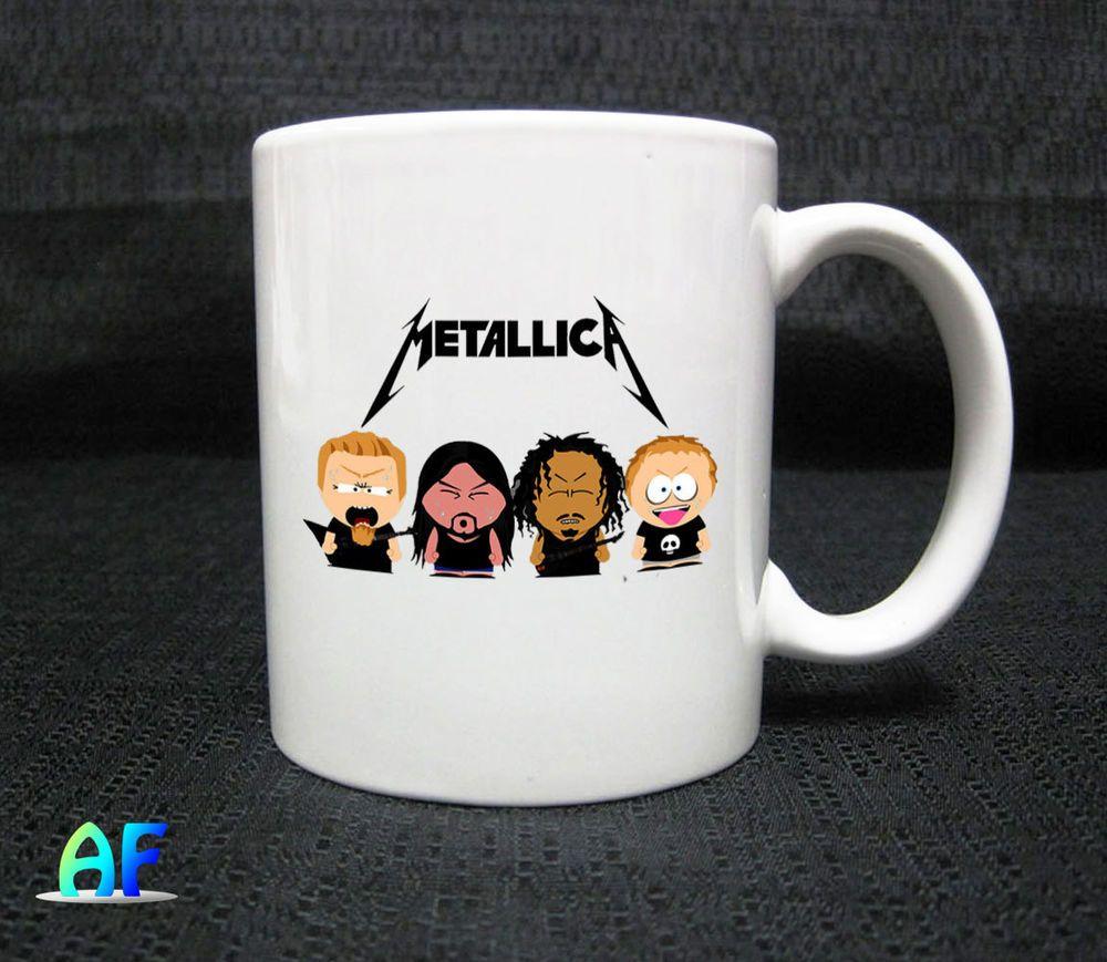 Southpark Metallica Mug - Coffee Mug 11oz Ceramic #Handmade   Coffee Mug