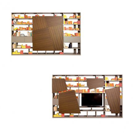 Bibliotheque Meuble Tv Latina Roche Bobois With Images Wall Paneling Home Furniture