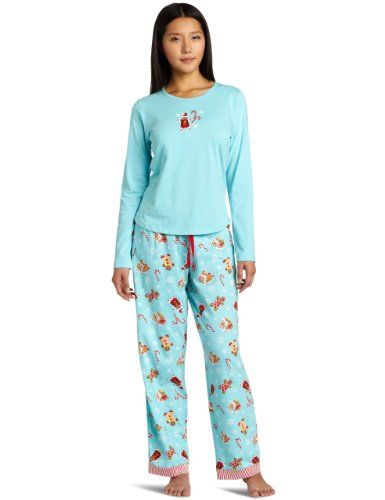 d2ea9e2921 Light Blue Christmas Pajamas for women and girls