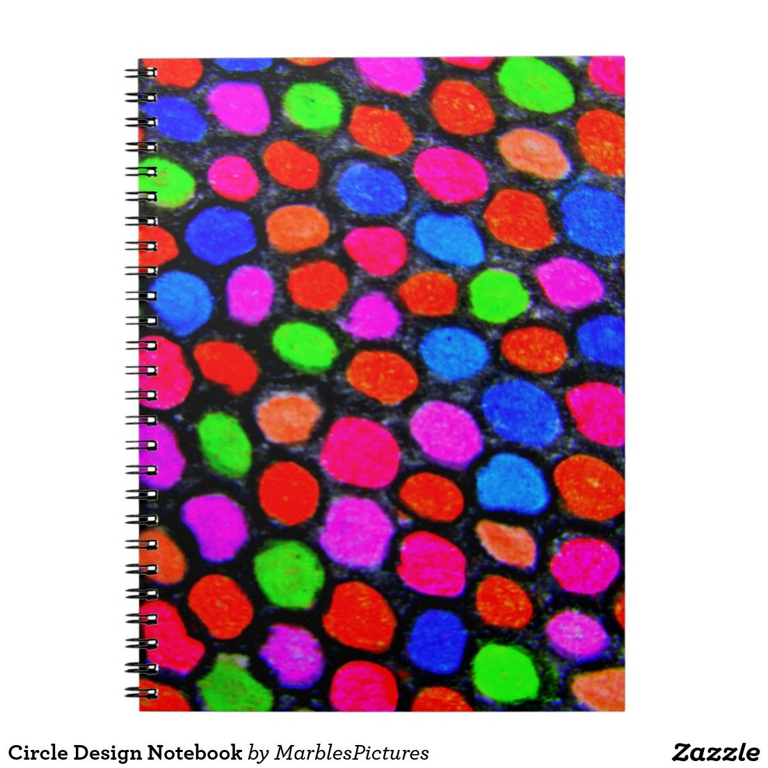 Circle design notebook notebook journal circles