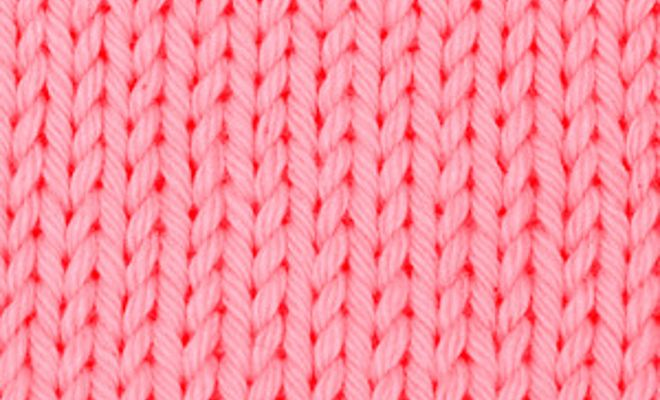 Learn How To Knit The Stockinette Stitch An Easy Basic Knitting
