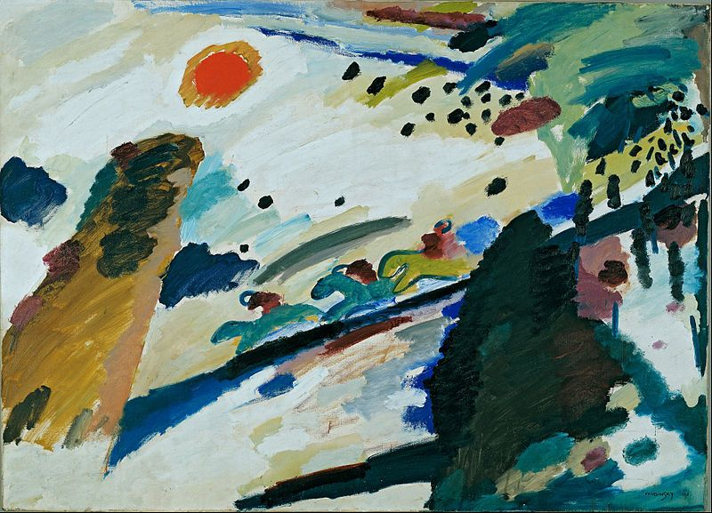 Huariqueje Romantic Landscapes Wassily Kandinsky 1911 Russian