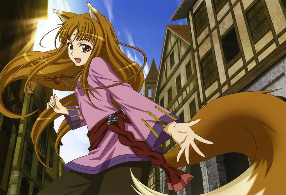 Holo from Spice and Wolf I will cosplay her eventually