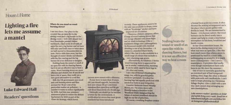 Wood Burning Stove V Open Fire Which Is Best Financial Times Edward Hall Crm System