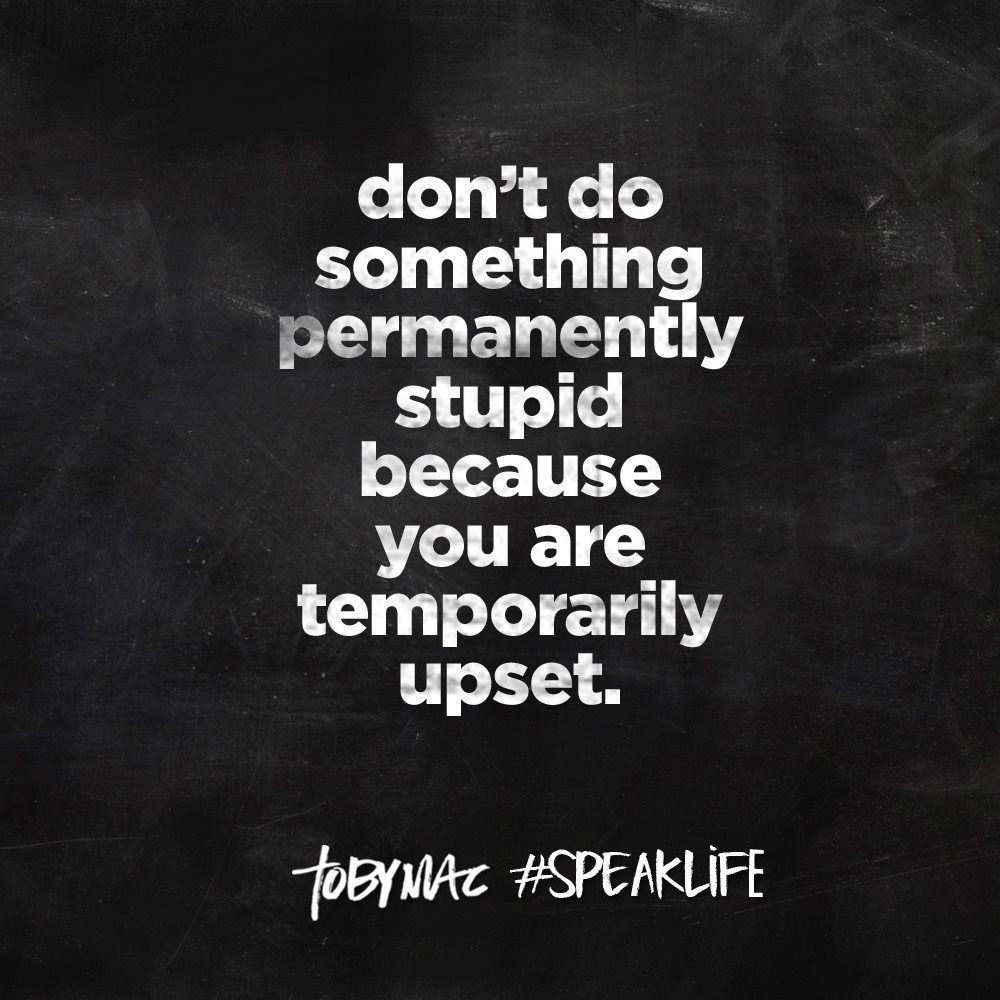 Wise Life Quotes Tobymac Speak Life Quotesquotesgramquotesgram  Tobymac