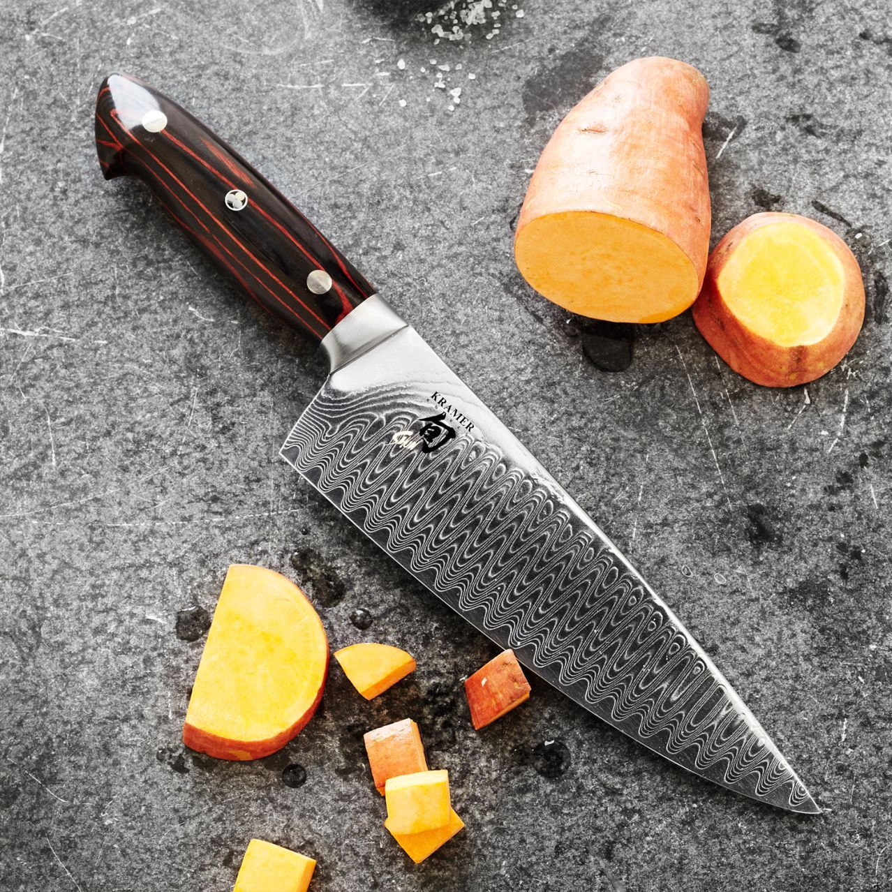 Shuns Kitchen: Shun Bob Kramer Chef's Knife, 6""