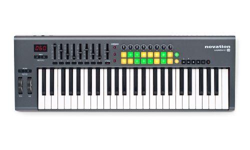 Novation Launchkey 49, 49-key USB/iOS MIDI Keyboard Controller with…