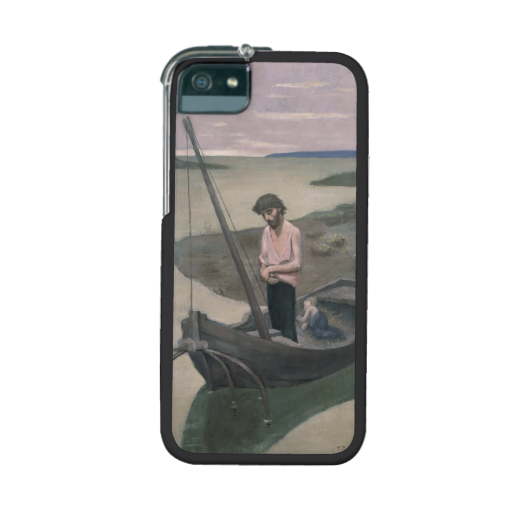 Poor Fisherman by Pierre Puvis de Chavannes iPhone 5/5S Cases