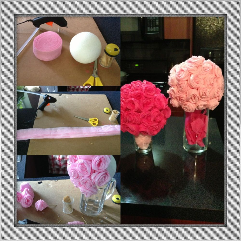 Diy Streamer Paper Flower Estefany Alc Party Ideas Pinterest