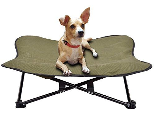 Portable Dog Cot Elevated Pet Bed For Dogs Cat Travel PUPTECK {affiliate  Link}
