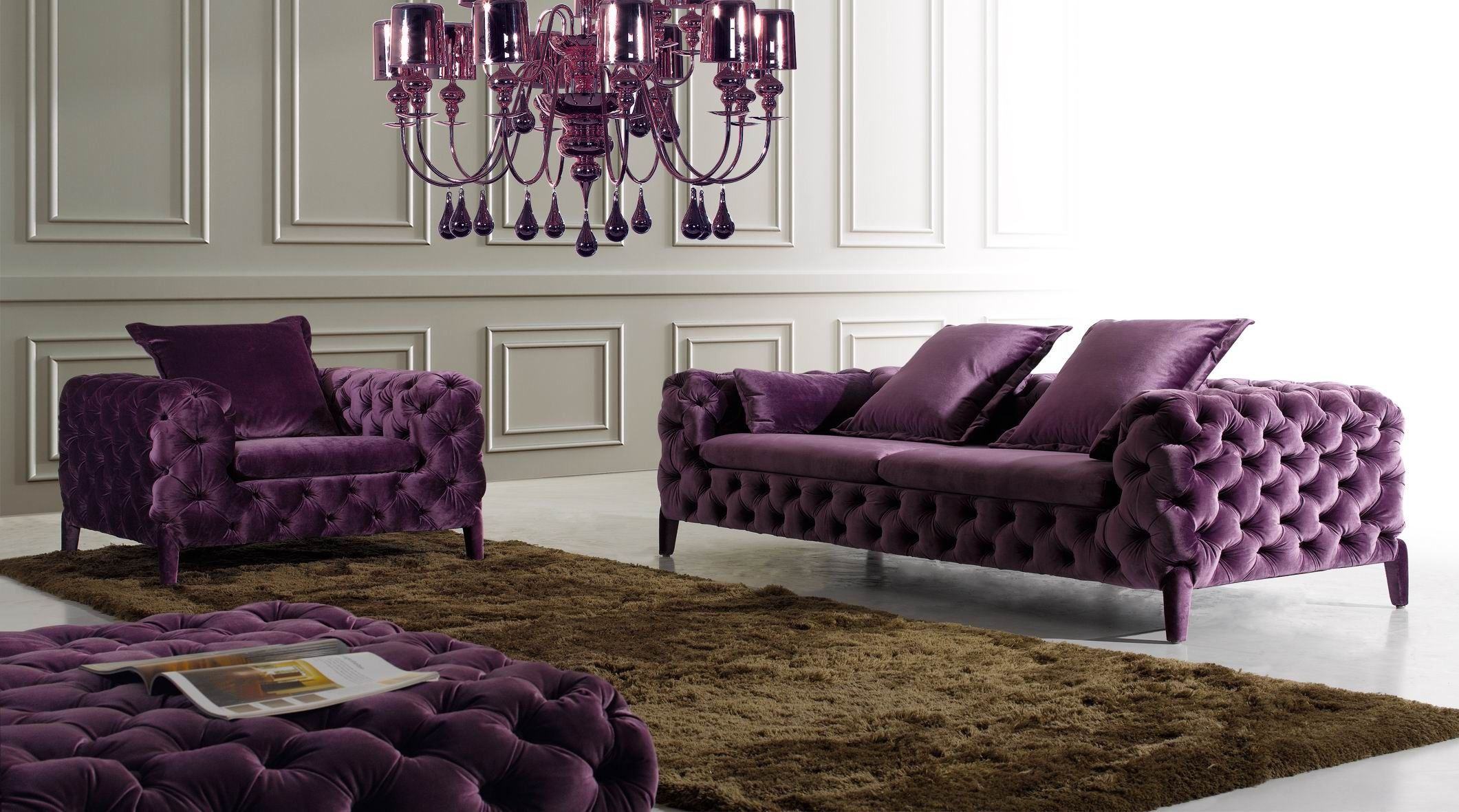 Furniture Cool Design ideas Modern Chesterfield Sofa Fascinating