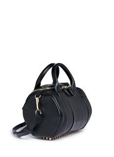 ALEXANDER WANG 'Rockie' pebbled leather duffle bag