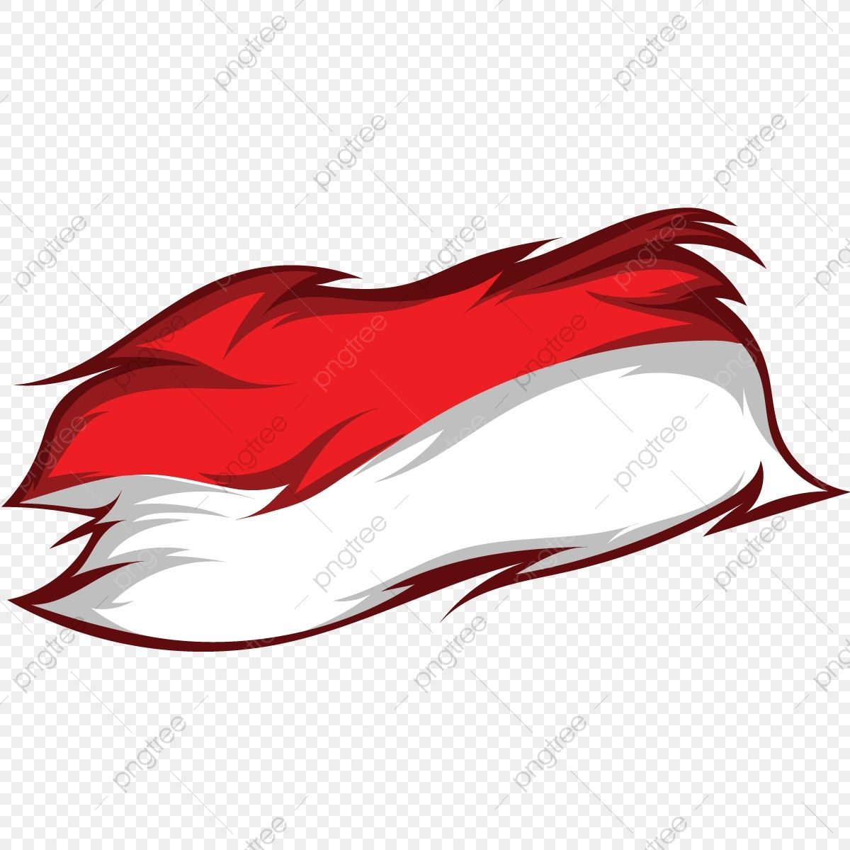 Indonesia Flag With Torn Ornaments On The Edges Bendera Indonesia Unik Png And Vector With Transparent Background For Free Download Indonesia Flag Flag Vector Flag