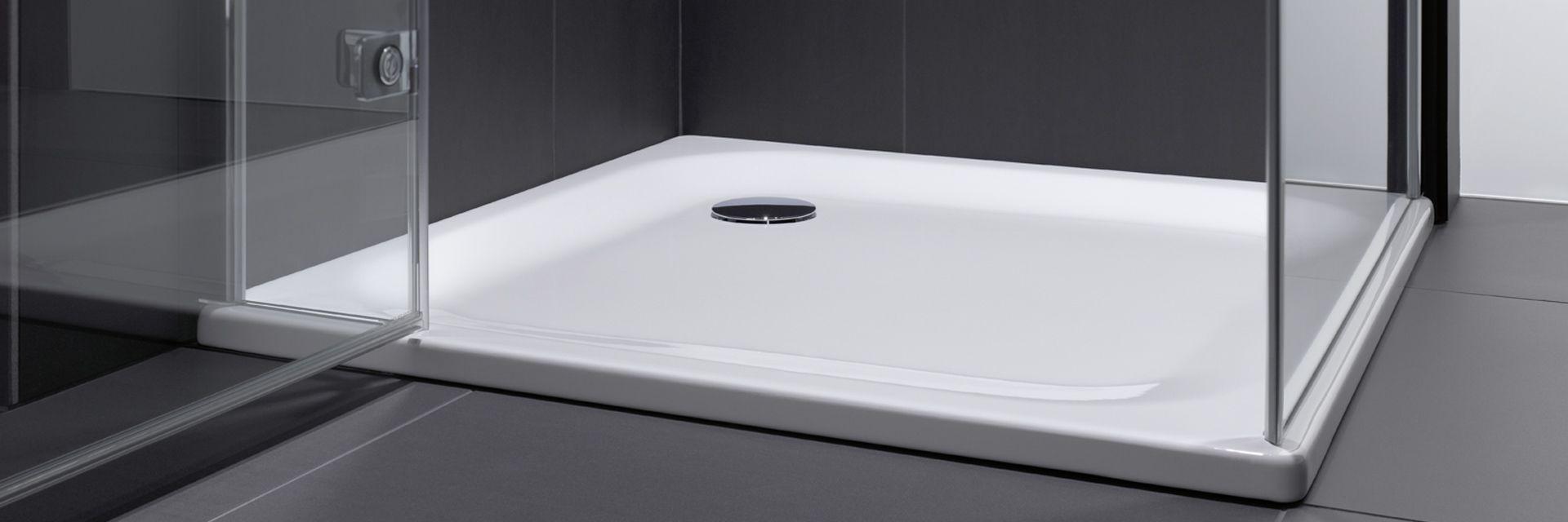Products - SHOWERING - Rectangular showers - BETTESHOWER TRAYS, DEPTH 2,5/3,5 CM…