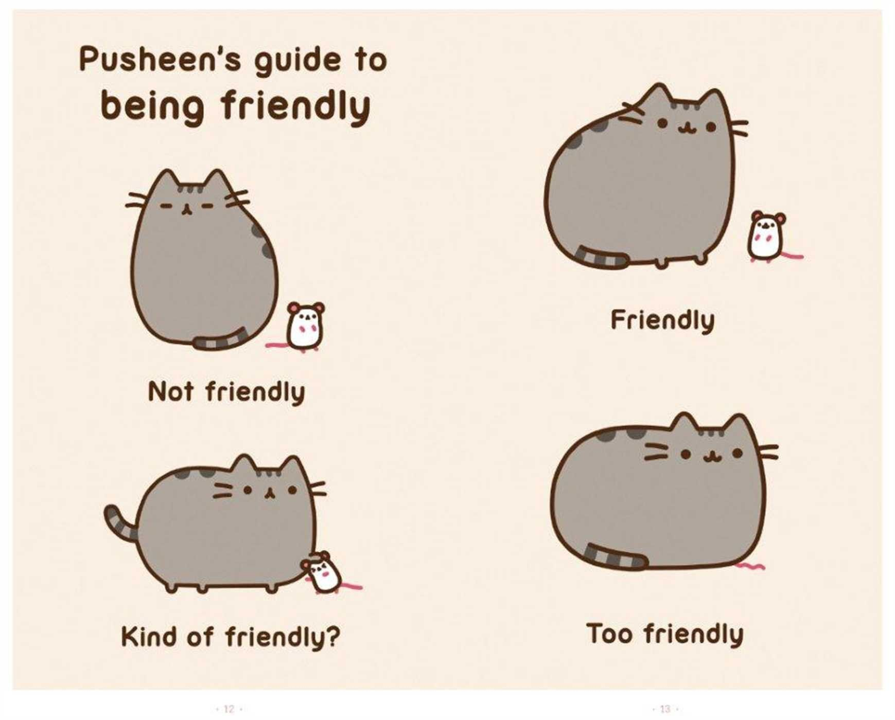 Good I Am Pusheen The Cat: Claire Belton: 9781476747019: Amazon.com: Books Via  PinCG.com