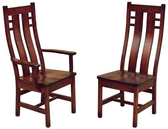 Cascade Chair In 2019 Amish Kitchen Dining Chairs Amish