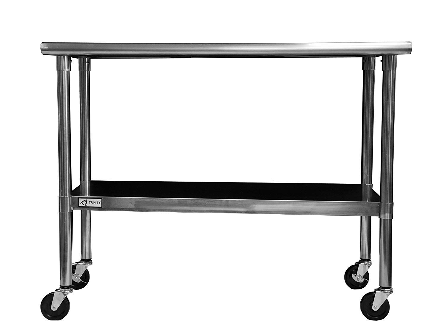 82 Reference Of Stainless Steel Kitchen Bench On Wheels In 2020 Steel Table Stainless Steel Prep Table Stainless Steel Table