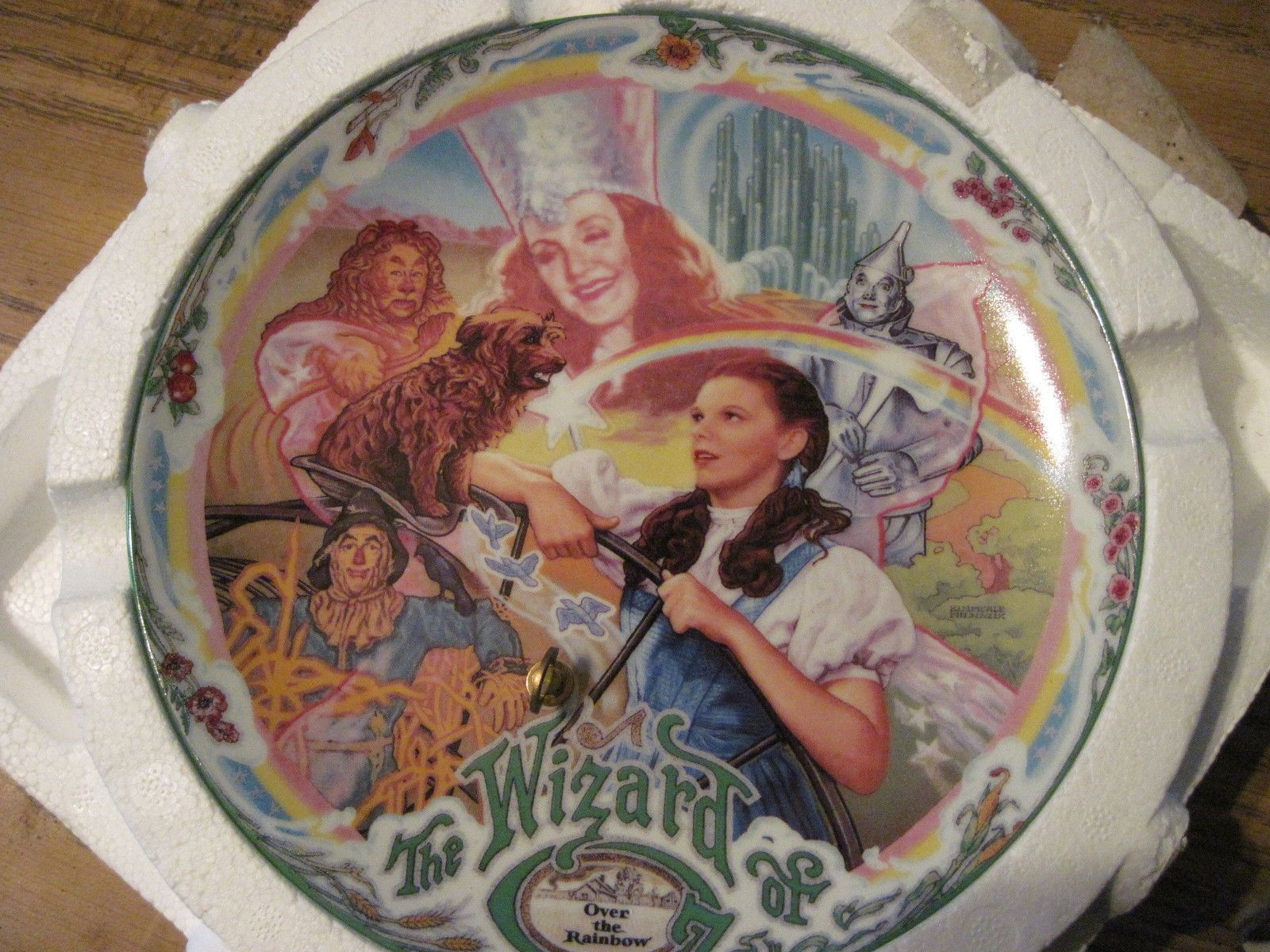 Wizard Of Oz Musical Plate Somewhere Over The Rainbow