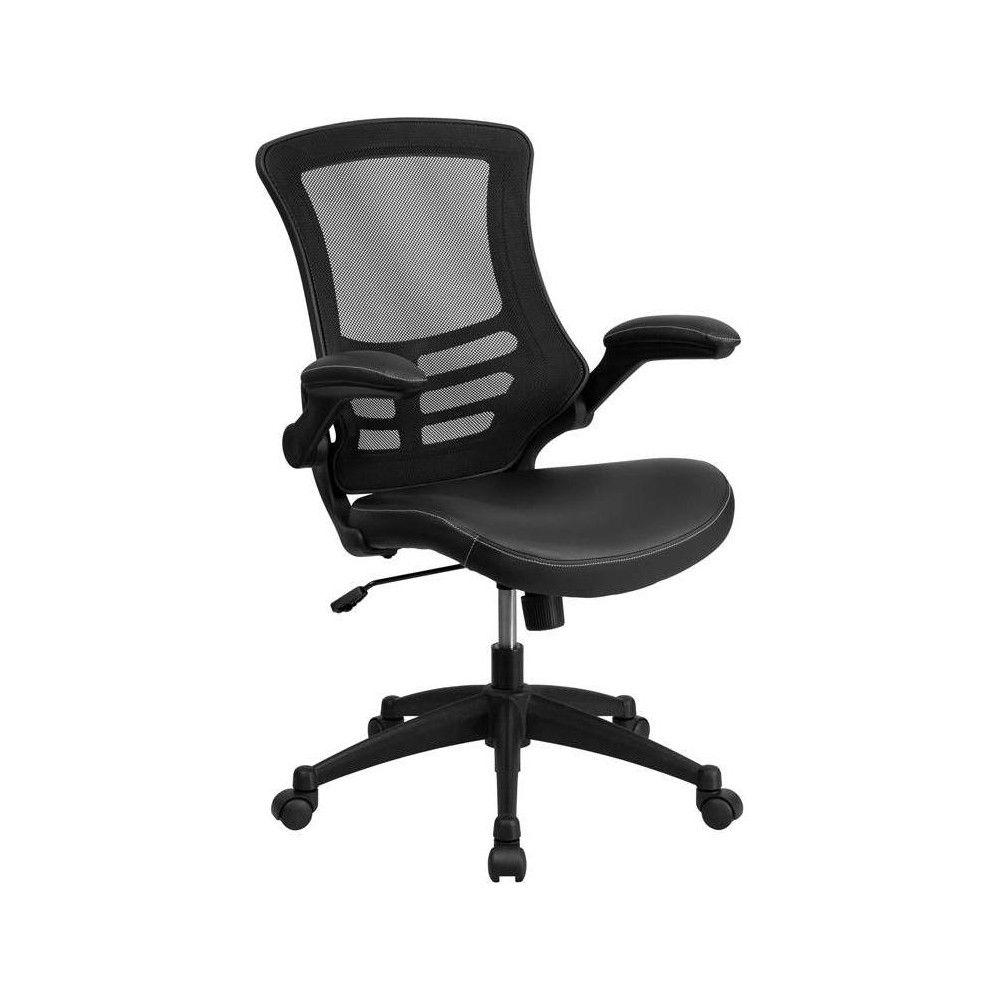 Mid Back Mesh Swivel Ergonomic Task Office Chair Black