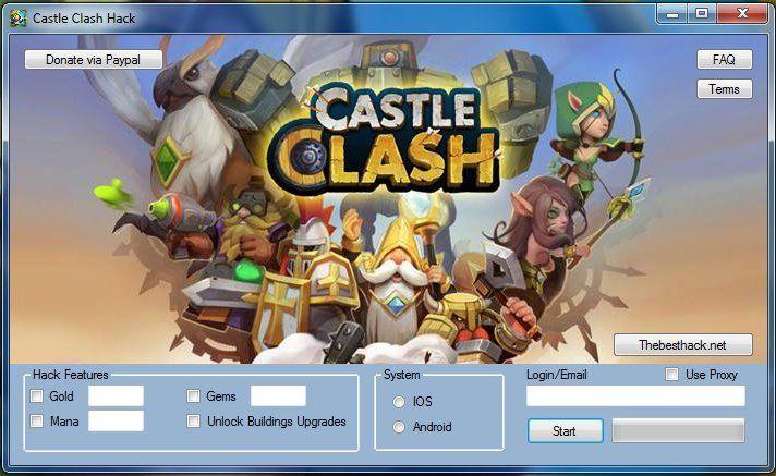 Castle Clash Hack Gold Mana Gems Buildings Upgrades In 2021 Castle Clash Castle Clash Hack Free Gems