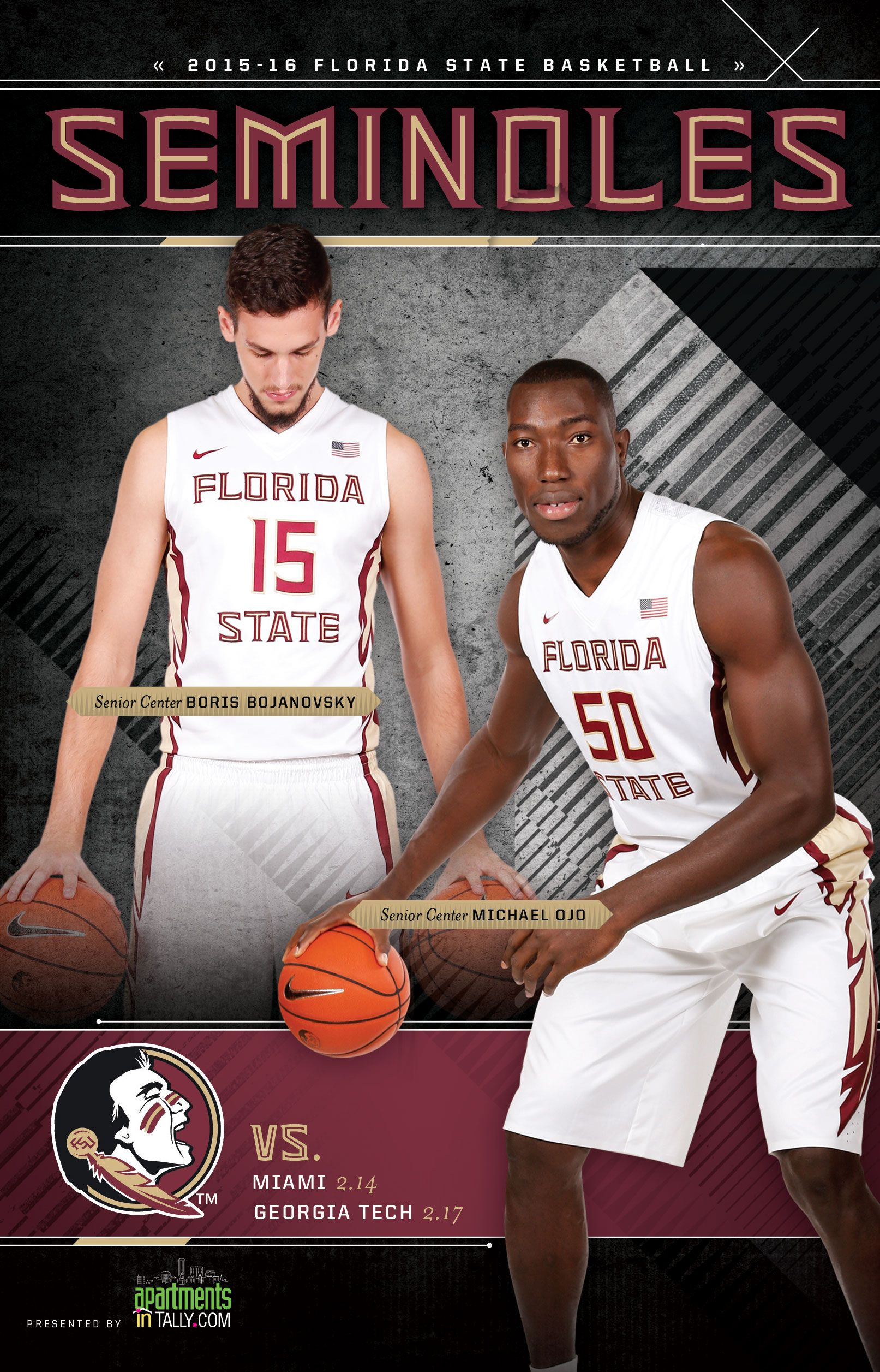 The 201516 Florida State Seminoles Men's Basketball